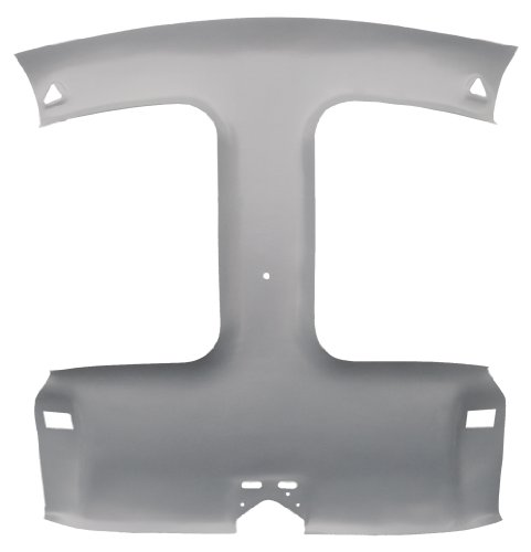 Acme AFH25-Uncovered ABS Plastic Headliner Uncovered (1995 Camaro Headliner compare prices)