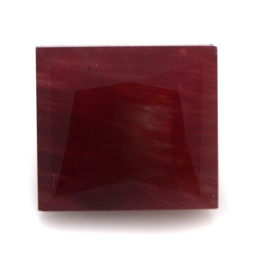 Natural Africa Red Andesine Loose Gemstone Baguette Cut 7*6mm 2.30cts SI Grade