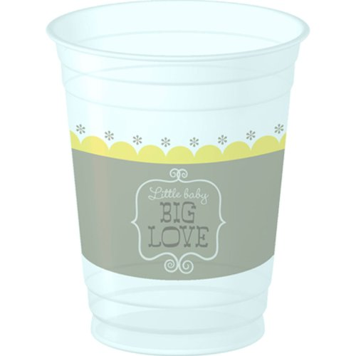 Stork Baby Shower 14 oz Plastic Cups