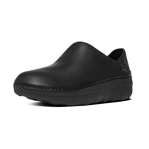 Fitflop Donna Superloafer (Leather) zoccoli nero Size: 39