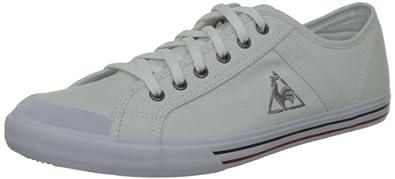 Le Coq Sportif Saint Malo, Baskets mode mixte adulte - Blanc (White), 39 EU