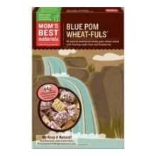 Mom's Cereal, Blue-Pom Wheat-Ful 15.5 oz. (Pack of 16)