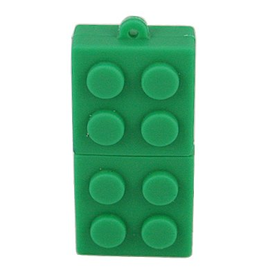 HDE (TM) USB 2.0 Building Block Style 4GB Flash