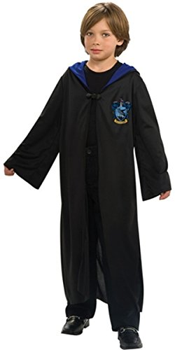 Harry Potter Youth Child Robe Cloak Ravenclaw School XS with Free Tattoo