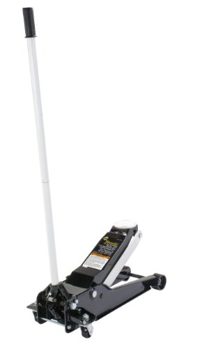 Omega 27035 Magic Lift Black/White Service Jack - 3.5 Ton Capacity