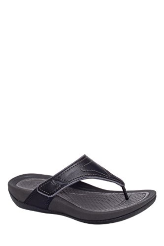 Katy Smooth Low Wedge Flip Flop Sandal