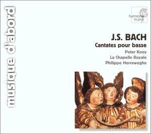 Bach : Cantates pour basse BWV 56, 82 et 158