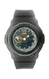 Casio Women'S Bga-141-1Bdr Baby-G Shock Resistant Analog Digital Watch