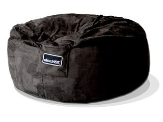 4u0027 black slacker sack foam bean bag chair like lovesac beanbag gaming love sac