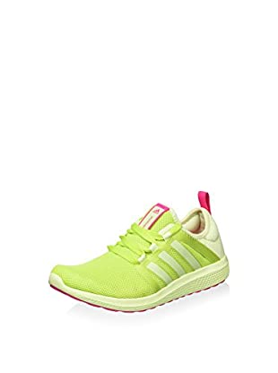 adidas Zapatillas Cc Fresh Bounce W (Lima / Blanco)