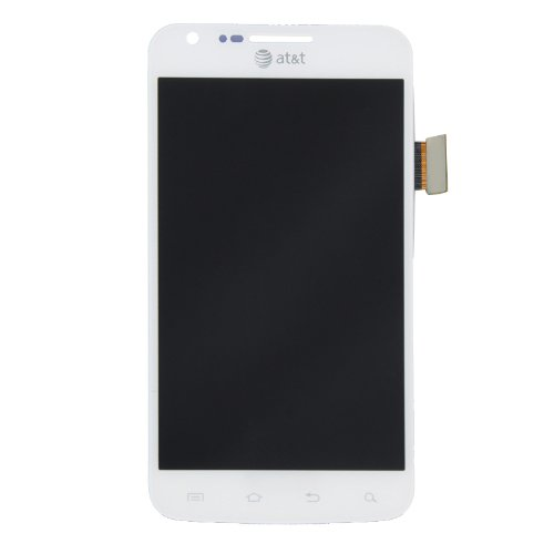 Lcd Display Touch Screen Digitizer Assembly For Samsung Galaxy S2 Skyrocket I727 At&T White Grade B+