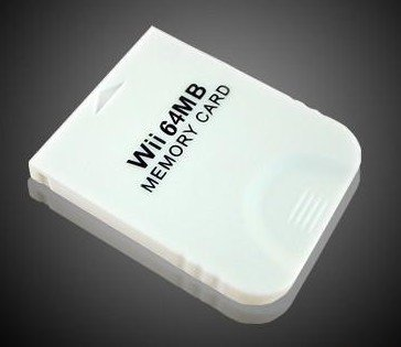 64mb Memory Card for WII Gamecube Compatible