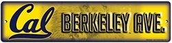Ncaa California Berkley Golden Bears 4'' X 16'' Street Sign