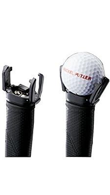 GCA Golf Ball Pick Up Retriever Grabber Back Saver Claw Put On Putter Grip
