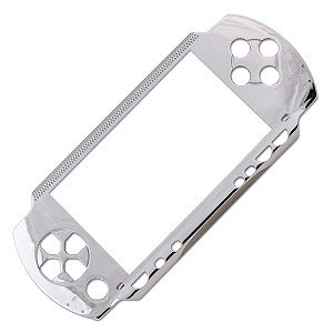 PSP Slim 2000 Replacement Faceplate Silver