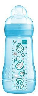 Mam 270Ml Bottle 1 Pack (Blue) [Baby Product] front-1004536
