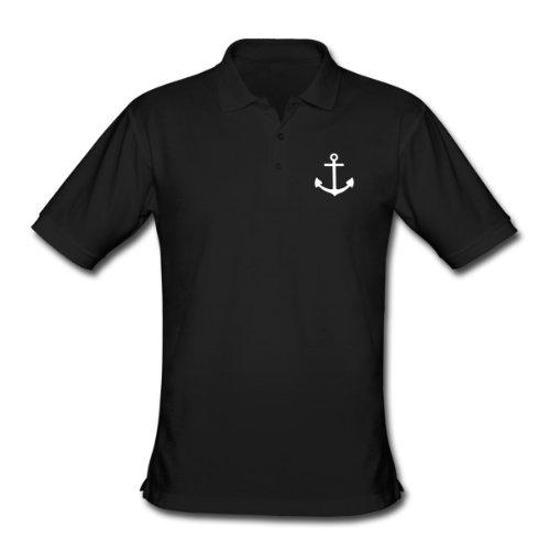 Spreadshirt, anker, Men's Classic Polo Shirt, black, M
