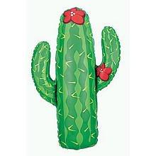 """Cactus 41"""" Giant Foil Balloon"""