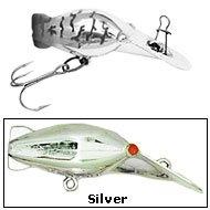 Amazon.com : Luhr Jensen 35 Hot Shot (Rattle) Silver