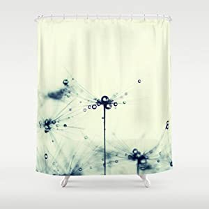 society6 dandelion shower curtain by ingrid