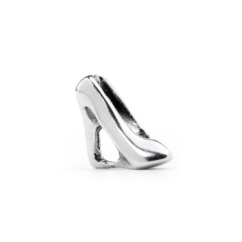 Novobeads High Heel Sterling Silver Charm Bead - Fits all major bead bracelets