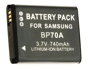 NEEWER® Samsung BP-70A BP70A Generic Replacement Rechargeable Lithium Ion Battery for ES65, ES70, PL80, PL100, SL50, SL600, SL630 Digital Cameras