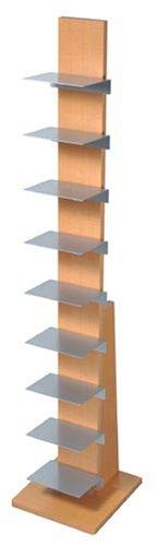 オークス ブックタワー ハイタイプ L52NA ナチュラル