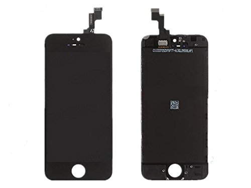 Iphone 5S Front Screen Lcd With Digitizer Assembly Black Display