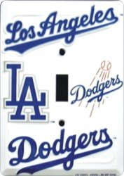 Los Angeles Dodgers Light Switch plate at Amazon.com