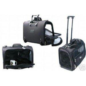 wouapy sac de transport pour chien trolley animalerie. Black Bedroom Furniture Sets. Home Design Ideas
