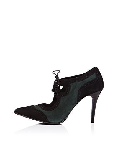 Vilagallo Zapato Mia Verde / Negro