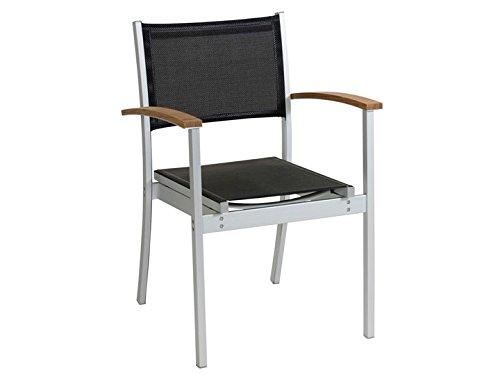 AQUILA Garten Stuhl Schwarz kaufen