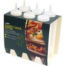 Sunnex Effacer bouteilles de sauce 8 onces, Pack 6
