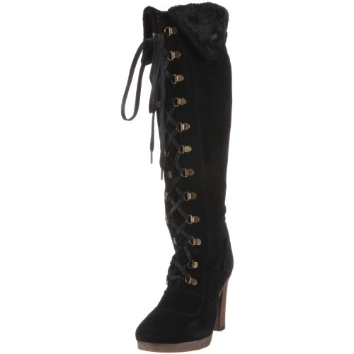 Pepe Jeans London Women's Ellen EL-134 Black Boots EL-134 B 4 UK