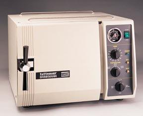 Autoclave Tuttnauer/Brinkmann Autoclaves; 7 in. I.D