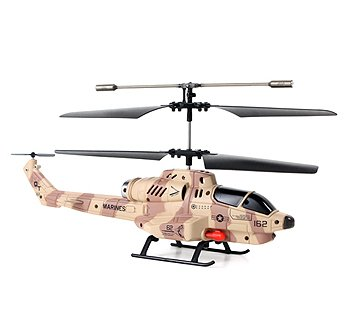 Helizone Combat Fighter 3.5 Channel Gyro Missile Shooting RC Helicopter Cheap