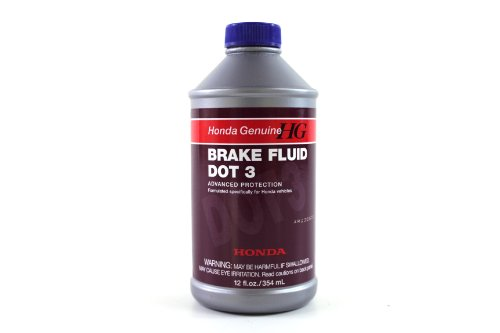 Genuine Honda Fluid 08798-9008 DOT 3 Brake Fluid - 12 oz.