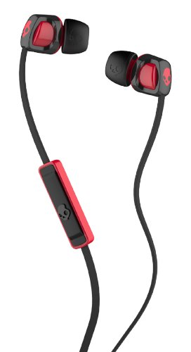 Skullcandy Smokin' Buds 2 with Mic1 EarBuds (Black/Red)