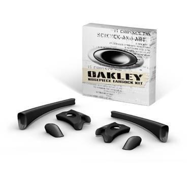 Oakley Flak Jacket Earsock Nosepiece Kit Black