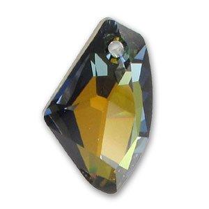 Galactic Vertical Swarovski 6656 27 mm Crystal Tabac x1