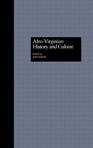 Afro-Virginian History and Culture (Crosscurrents in African American History)