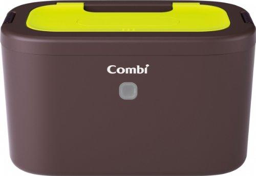 コンビ Combi おしり拭きあたため器 クイックウォーマー LED+ネオングリーン 上から温めるトップウォーマーシステム -