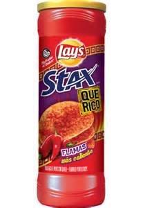 Amazon.com: Lay's Stax Que Rico Flamas Potato Crisps, 5.5 oz