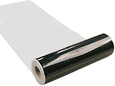 "Poly-Tak CM-21-0135R24 21"" X 35' Clear Carpet Mask Roll"
