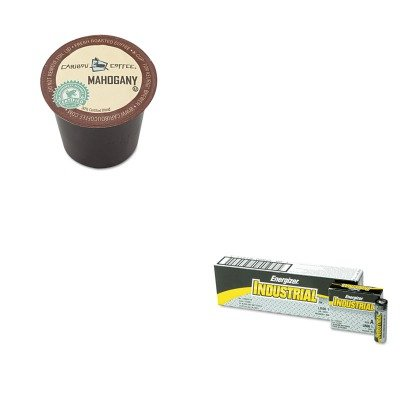 Kiteveen91Gmt6990 - Value Kit - Green Mountain Coffee Roasters Mahogany Coffee K-Cups (Gmt6990) And Energizer Industrial Alkaline Batteries (Eveen91)