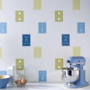 Graham and Brown Contour Keep Calm Wallpaper - Bl from New A-Brend