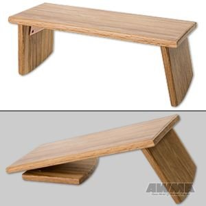 Meditation Bench Portable With Folding Legs