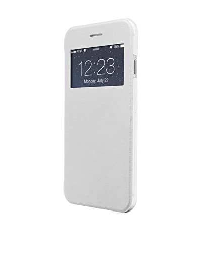 UNOTEC Funda Flip-S iPhone 7 Plus Blanco