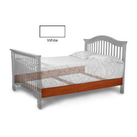 Angel Line Convertible Full-Size Bed Rail w/3 Slats