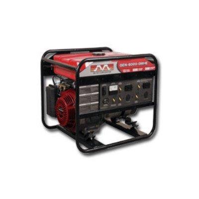 6,000 Watt Portable Electric Generator